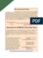 3 Task_Reverberation time