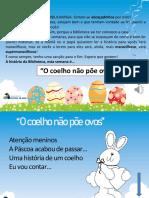 O Coelho Não Poe Ovos Com Áudio