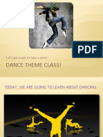 Dance Theme Class Revised