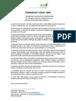 Farmácia Ligue 1400