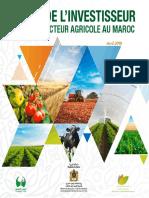 Le Guide de l'Investisseur dans le secteur agricole au Maroc en Français