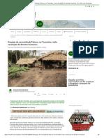 Despejo da comunidade Taboca, no Tocantins, viola resolução de direitos humanos - De Olho nos Ruralistas