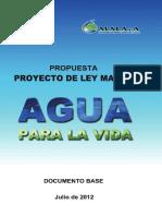 propuesta de ley marco de agua bolivia