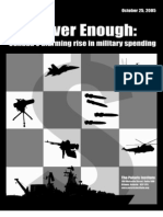 Canada's Alarming Rise in Military Spending
