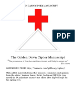 The Golden Dawn Cipher Manuscript