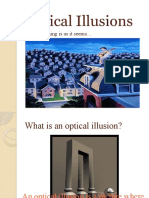 Optical Illusions PPT