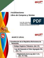 Carlos Alvarado. Fiscalizacion Libros de Compra y Venta IVA