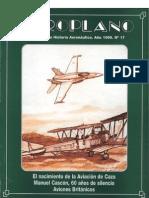 Revista Aeroplano número 17 del año 1999