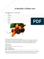 What Are the Benefits of Beets and Carrot1