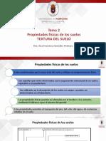 Tema 2. Propiedades físicas de los suelos-Textura (1)
