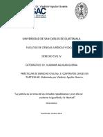 AUTOEVALUACIÓN. No. 3, Civil IV.