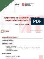 26-09_bloque2_1_Julio Pérez _CESIRE Experiencias STEM en Cataluña y expectativas respecto STEMcat