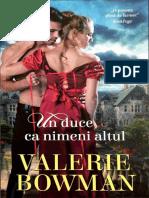 Valerie Bowman - Mirese jucause - vol.9 Un duce ca nimeni altul