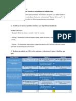 Choosing by Advantages y Reporte A3 COVID-19