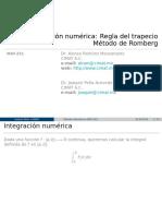 Integracion numerica metodo trapecio