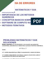 1.3 1.4  presicion cifras, tipos de errores
