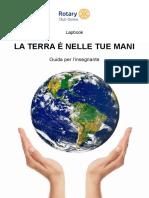 """LAPBOOK """"La Terra è nelle Tue Mani"""" Guida Per l'Insegnante - ROTARY CLUB OSIMO"""