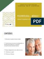 Psicopatologia – Módulo 7