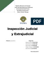 Tema 12 Inspeccion Judicial y Extrajudicial