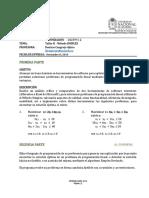 TALLER II - Solución de PPL