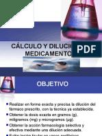 PRESENTACION DILUCIONES DE MEDICAMENTOS