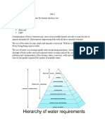 Introduction to water engineering