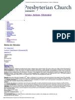 Reinado do messias _ Primeira Igreja Presbiteriana, Jackson, Mississippi.pdf