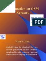 Presentation on GSMNetwor