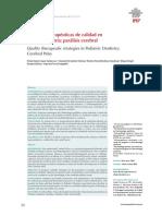 estrategias terapeuticas de calidad en odontopediatria