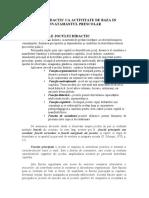 Jocul Didactic CA Activitate de Baza in Invatamantul Prescolar