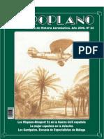 Revista Aeroplano número 24 del año 2006