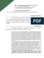 NOTA TÉCNICA 33 - 2015 - CGNOR  Possiblidade de acumulação de pensão civil e aposentadoria estatutária