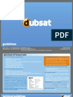 Dubsat Guidelines