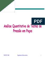 9 - Análise Quantitativa de Testes de Poços