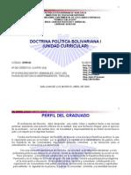 Doctrina política Bolivariana