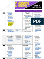 copy of first grade weekly activities week 5  1