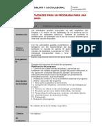 Porfolio 3 Diseña dos actividades para una escuela de padres