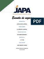 Legislacion Laboral( tarea 1)