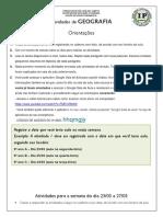 GEOGRAFIA - Profª Vanessa 9º ANO pdf