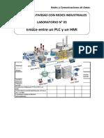 Lab 03 - Enlace entre un PLC y un HMI