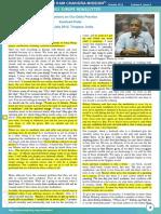Clarification on the Daily Practice - 23 jul 2012 - Kamlesh Patel