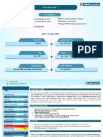 HSL PCG Investment Idea - CITY UNION BANK LTD.