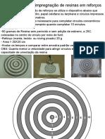 Teste taxa de impregnação de resinas em reforços  Waldomiro Moreira