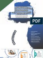 LEY DE CRECIMIENTO ECONOMICO
