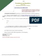 L13836 -  alteração na Maria da Penha