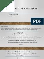 2 Matematicas Financieras Descuentos