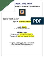 vsb digital library tutorial  1