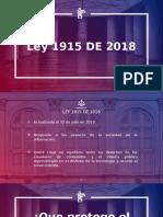 LEY 1915 DE 2018 ( CON NOTAS INCLUIDAS)