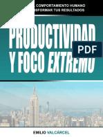 Guía Productividad y Foco Extremo - por Emilio Valcárcel