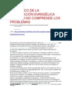 UN CRÍTICO DE LA DECLARACIÓN EVANGÉLICA SOBRE IA NO COMPRENDE LOS PROBLEMAS
